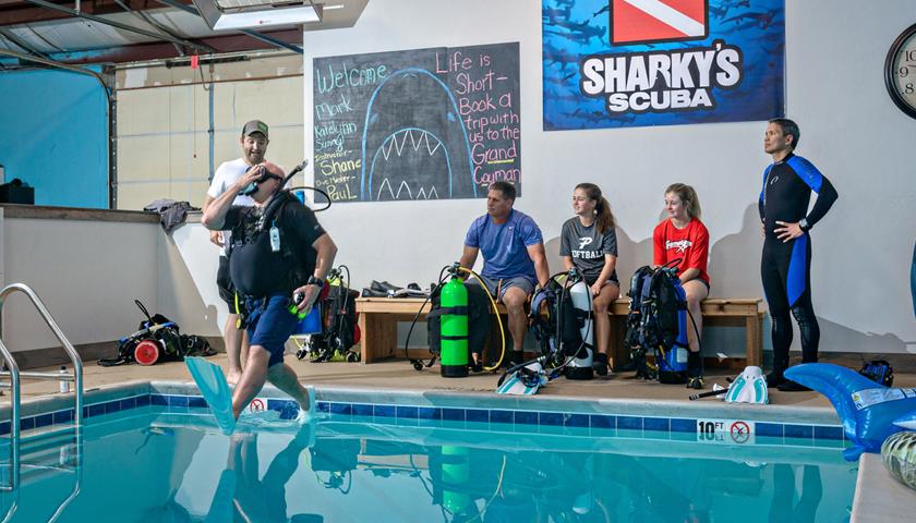 Oklahoma's Indoor Dive Facility